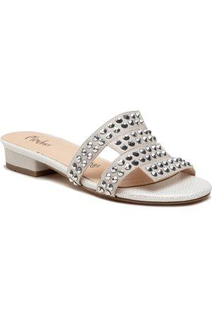 Menbur Mules / sandales de bain - 22439 Silver 0009