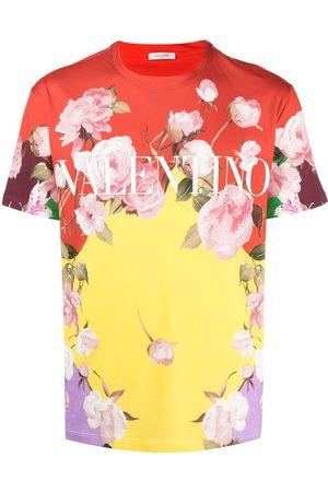 VALENTINO Homme Débardeurs - T-shirt à imprimé Flying Flowers