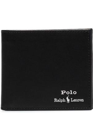 Polo Ralph Lauren Logo-embroidered bifold wallet