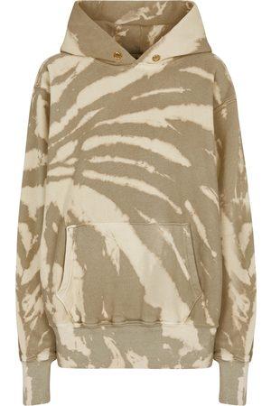 Les Tien Femme Sweatshirts - Sweat-shirt en coton à capuche et motif tie & dye