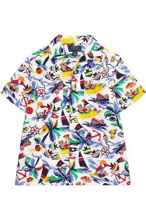 Ralph Lauren Chemise en coton imprimé