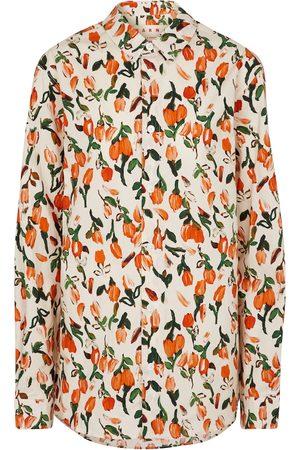 Marni Femme Chemisiers - Chemise en coton à fleurs