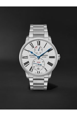 Ulysse Nardin Homme Montres - Marine Torpilleur Automatic 42mm Stainless Steel Watch, Ref. No. 1183-310-7M/40