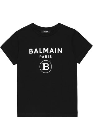 Balmain T-shirt imprimé en coton
