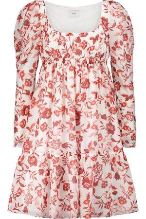 Erdem Robe Sybil en coton et soie à fleurs