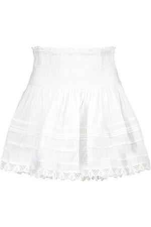 POUPETTE ST BARTH Exclusivité Mytheresa – Mini-jupe Galia en coton