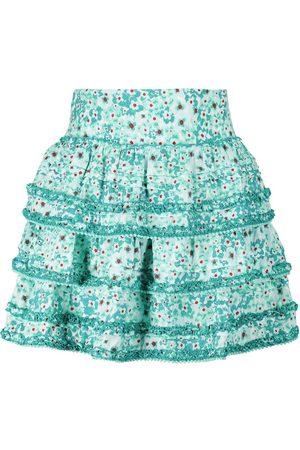 POUPETTE ST BARTH Exclusivité Mytheresa – Mini-jupe Bibi à fleurs