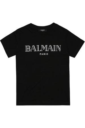 Balmain Fille T-shirts - T-shirt imprimé en coton
