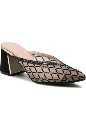 Menbur Mules / sandales de bain - 22310 Black/Gold 0010