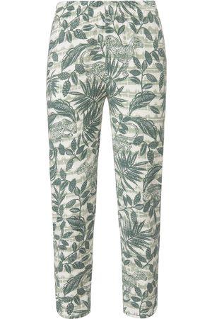 Green Cotton Le pantalon 7/8 100% coton