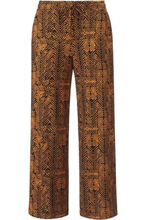Green Cotton Le pantalon longueur chevilles 100% coton