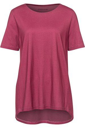 Green Cotton Le T-shirt mauve