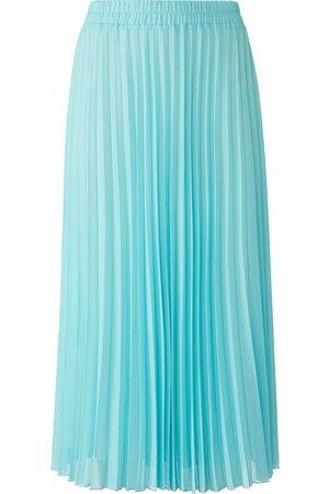 Peter Hahn La jupe plissée avec ceinture élastiquée turquoise