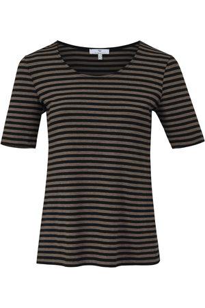 Peter Hahn Le T-shirt rayé manches courtes