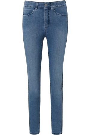 DAY.LIKE Le jean Slim Fit coupe 5 poches denim