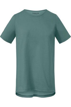 Green Cotton Femme T-shirts - Le T-shirt