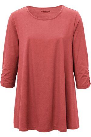Green Cotton Le long T-shirt 100% coton