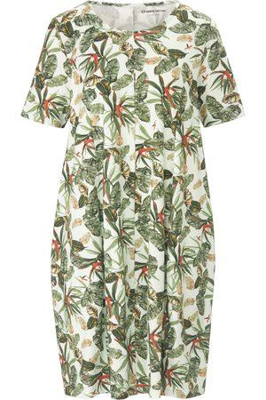 Green Cotton Femme Robes business - La robe jersey 100% coton