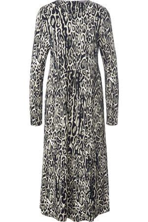 Mybc La robe jersey à imprimé animal