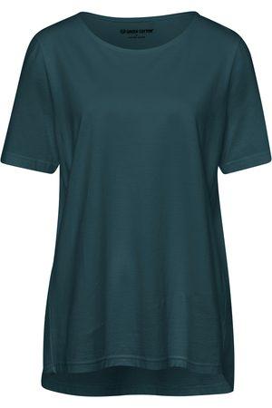 green cotton Le T-shirt