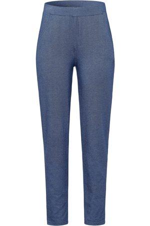 Green Cotton Le pantalon 7/8 aspect denim, ligne près du corps denim