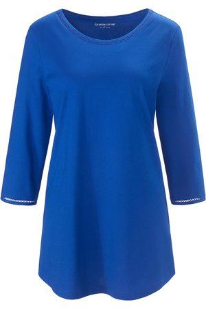 Green Cotton Femme Manches longues - Le T-shirt 100% coton