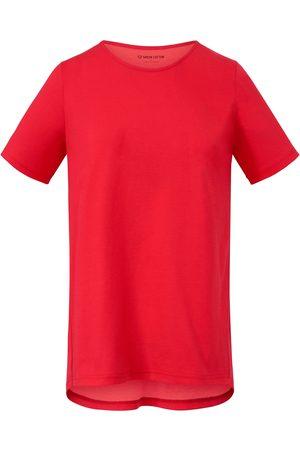 Green Cotton Le T-shirt fuchsia