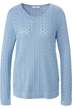 mayfair by Peter Hahn Le pull maille ajourée