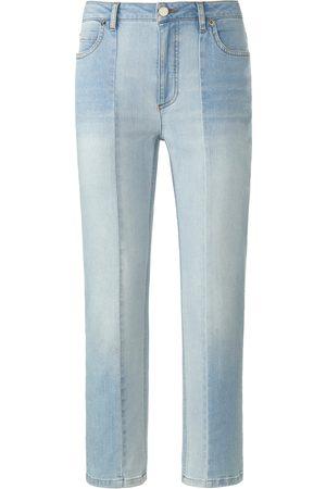 DAY.LIKE Le jean longueur chevilles coupe 5 poches denim