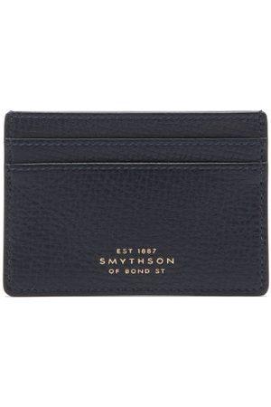SMYTHSON Porte-cartes en cuir grainé Ludlow