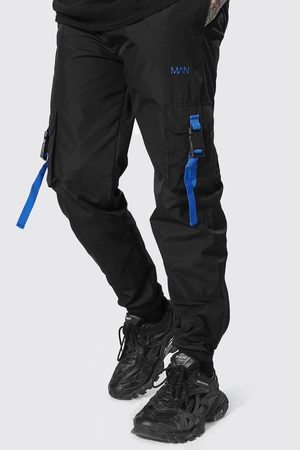 Boohoo Cargo Trouser With Straps Homme