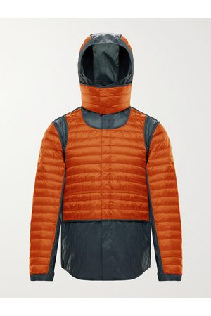 Moncler Genius Homme Vestes - 5 Moncler Craig Chrysemys Panelled Quilted Nylon Hooded Down Jacket