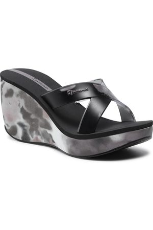 Ipanema Mules / sandales de bain - Lipstick Straps VII 83071 Black/Black 20766
