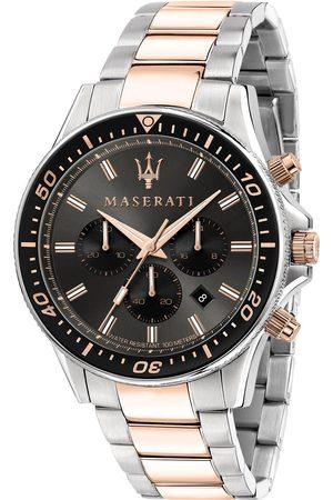 Maserati Montre - Sfida R8873640002 Silver/Black/Pink