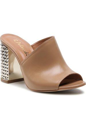 R. Polański Femme Mules & Sabots - Mules / sandales de bain R.POLAŃSKI - 936 Camel Lico