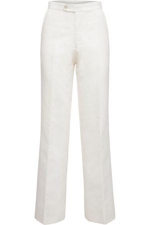 JUNYA WATANABE Pantalon En Sergé De Nylon Taille Haute