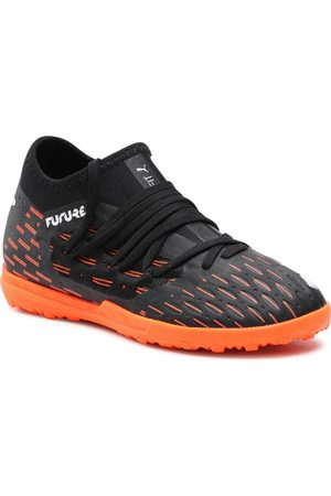 PUMA Garçon Chaussures - Chaussures - Future 6.3 Netfit Tt Jr 106203 01 Black/White/Shocking Orange