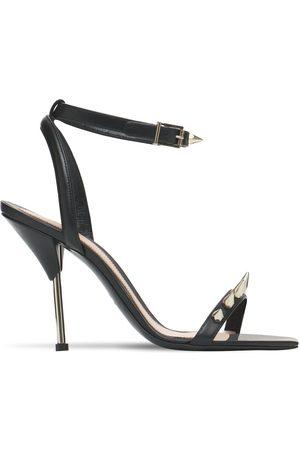 Alexander McQueen Femme Sandales - Sandales En Cuir 90 Mm