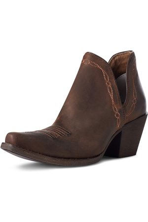 Ariat Femme Cowboy & Bikerboots - Women's Encore Western Boots in Weathered Brown Leather
