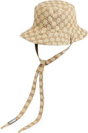 Gucci Femme Chapeaux - Chapeau réversible en toile GG et nylon