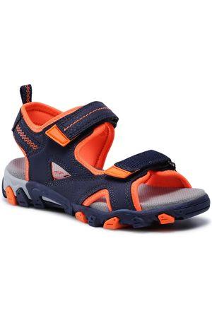 Superfit Sandales - 1-009450-8000 S Blau/Orange