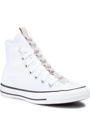 Converse Homme Baskets - Baskets - Ctas Hi 170131C White/String/Black