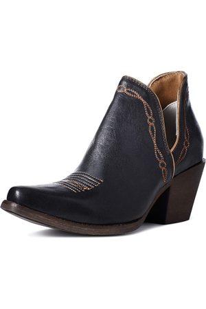 Ariat Femme Cowboy & Bikerboots - Women's Encore Western Boots in Brooklyn Black Leather