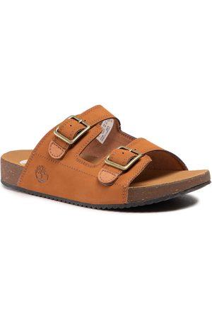 Timberland Mules / sandales de bain - Castle Island Slide TB0A4311F131 Rust