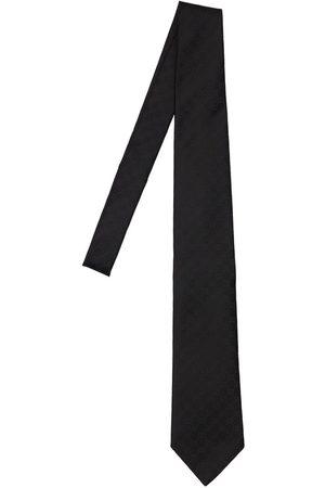 Gucci Cravate En Soie À Motif Gg 8 Cm