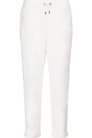 Brunello Cucinelli Femme Joggings - Pantalon de survêtement en coton