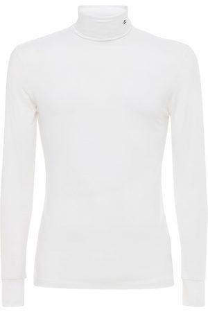 """RAF SIMONS T-shirt À Manches Longues En Tissu Technique """"r"""""""