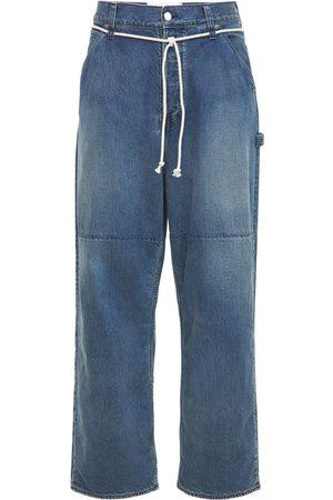 AMBUSH Jeans Ample En Denim De Coton