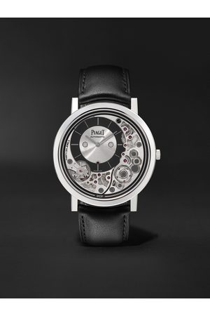 PIAGET Homme Montres - Altiplano Ultimate Automatic 41mm 18-Karat White Gold and Leather Watch, Ref. No. G0B43121