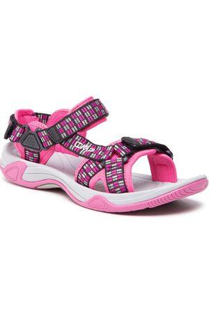 CMP Fille Chaussures de randonnée - Sandales - Kids Hamal Hiking Sandal 38Q9954J Hot Pink B375
